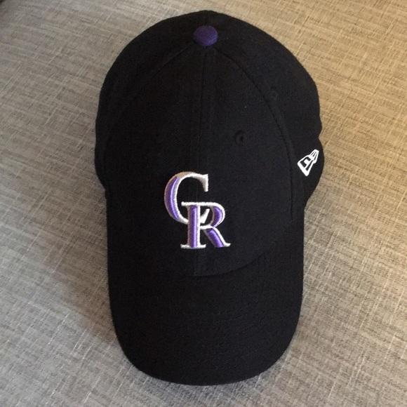 7a9492f3260 NEW ERA MLB CR Colorado Rockies Baseball Hat Cap. M 5c3a3fdb5c44523f221e4c54